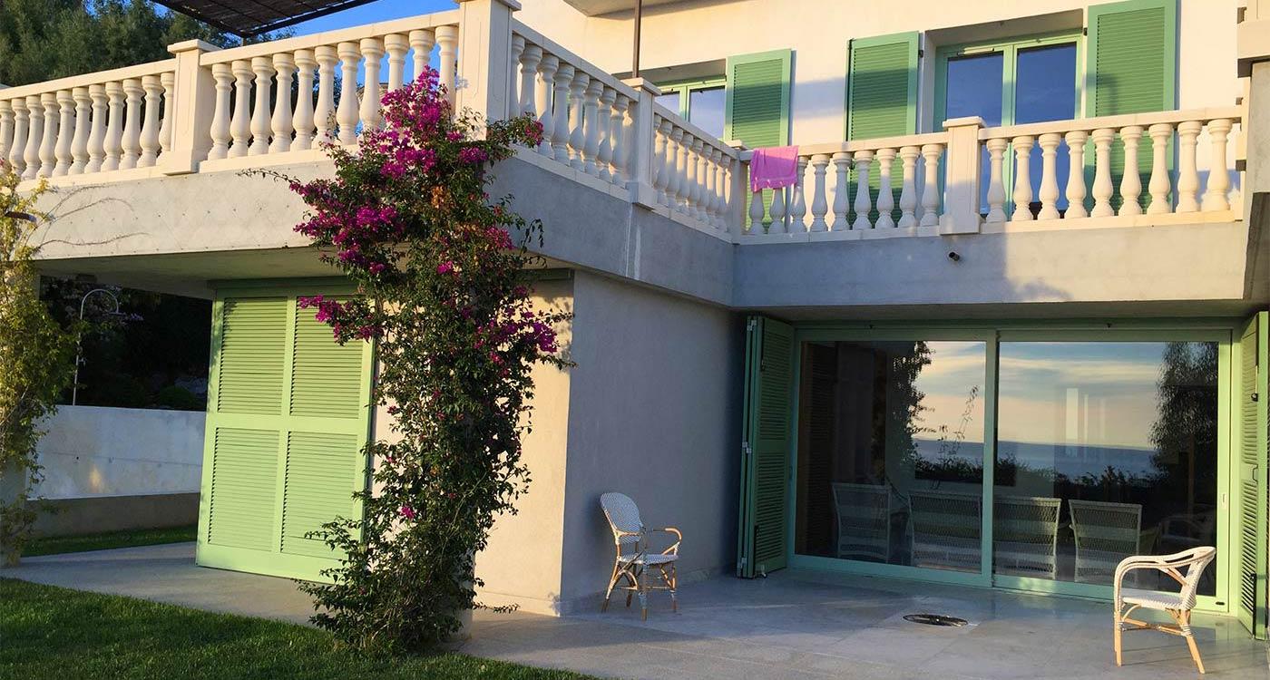 Le Patio de la maison en location Rayol-Canadel-sur-Mer