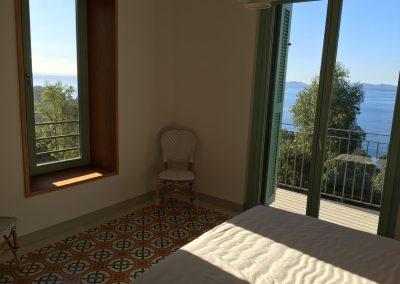 chambre du parc- Grande maison prestige à louer Rayol-Canadel-sur-Mer
