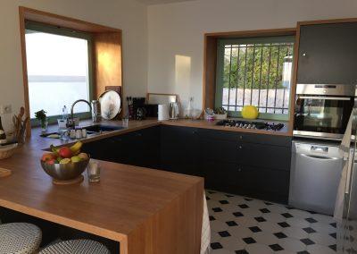 La cuisine Maison de prestige à louer au Rayol
