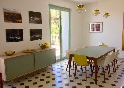 La salle à manger, vacances Grande maison luxueuse à louer Rayol-Canadel-sur-Mer