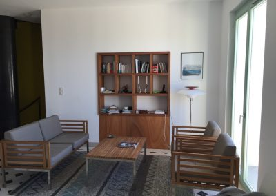Le salon, Grande maison prestige à louer pour vacances au Rayol