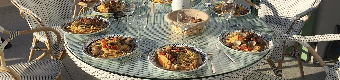 Repas Grande maison prestige  à louer Rayol-Canadel-sur-Mer