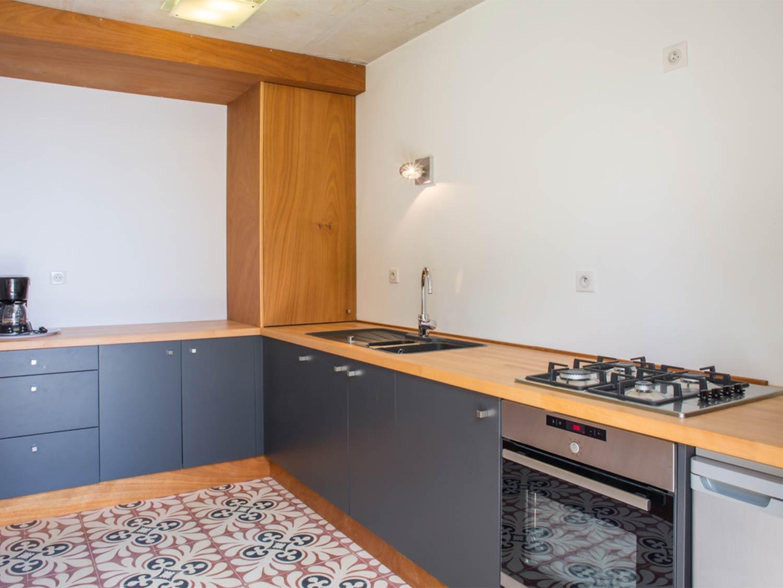 La cuisine du cabanon  dans Villa de prestige en location Rayol-Canadel-sur-Mer