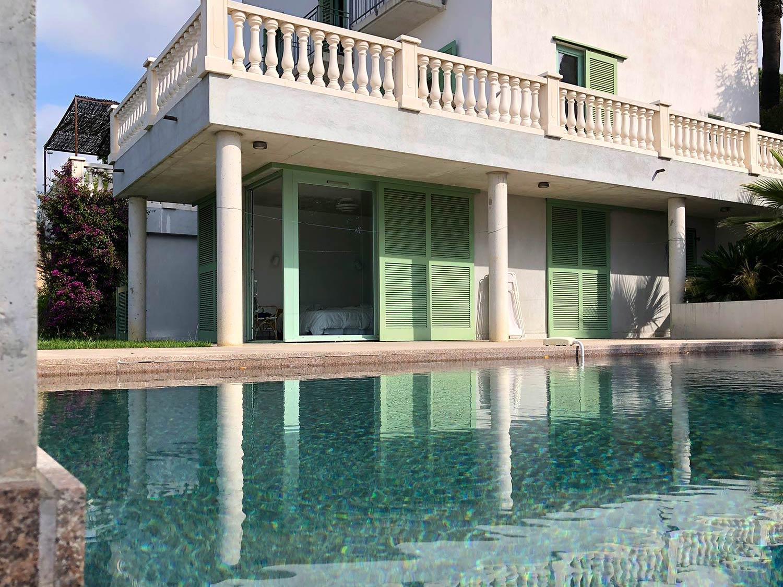 Piscine marbre Grande maison luxe à louer proche Le Lavandou