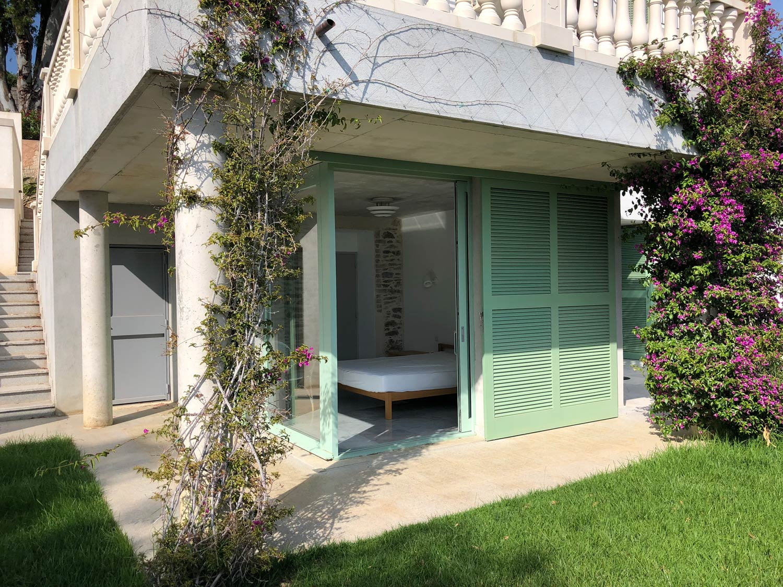 Chambre Jardin Grande maison luxueuse à louer Rayol-Canadel-sur-Mer  proche Le Lavandou