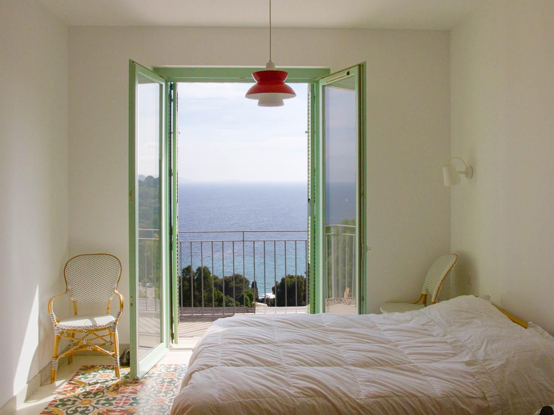 Vue sur la mer Chambre Grande maison luxueuse à louer Rayol-Canadel-sur-Mer